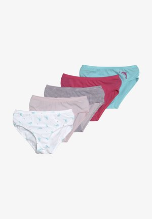 5 PACK - Slip - light pink/turquoise/white