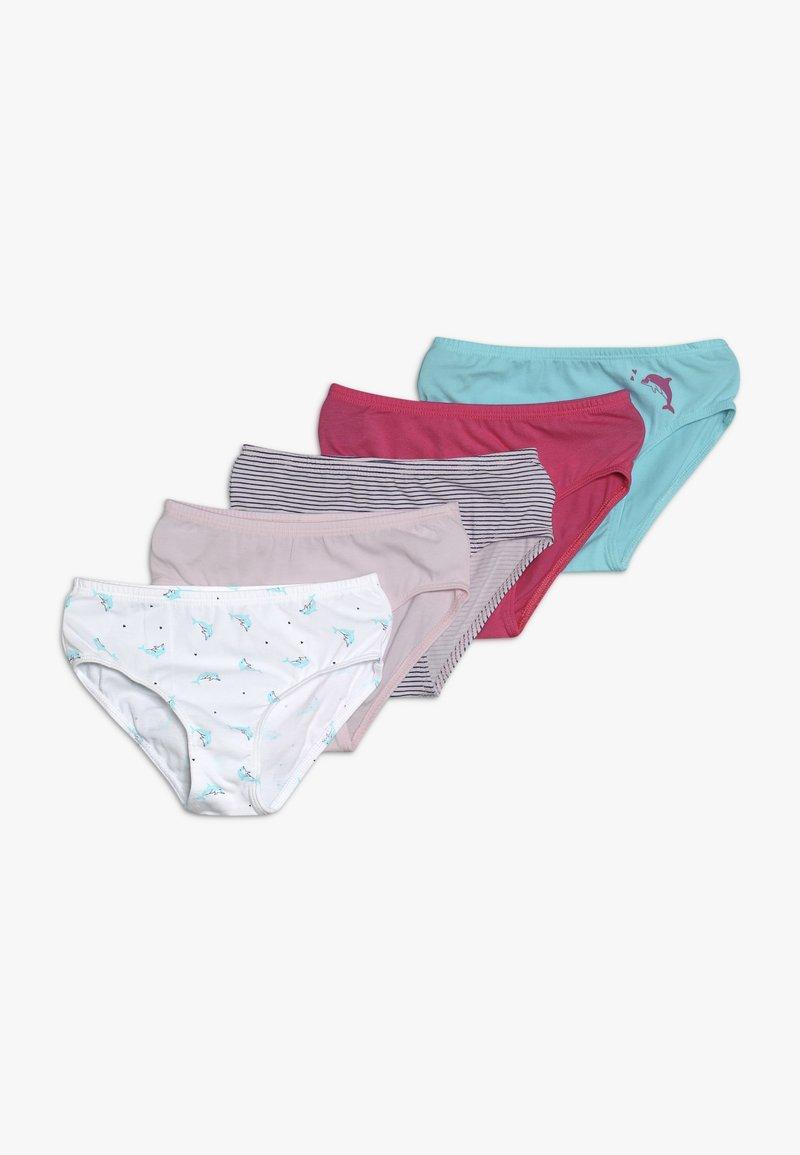 Schiesser - 5 PACK - Braguitas - light pink/turquoise/white