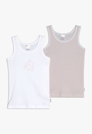 2 PACK  - Undershirt - yellow/white