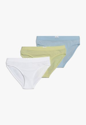 3 PACK - Kalhotky - light blue/yellow/white