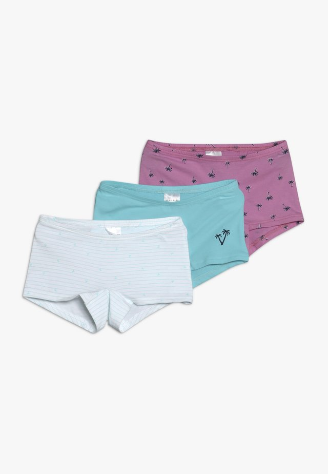3 PACK - Panties - pink/light blue/white