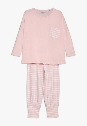SCHLAFANZUG MÄDCHEN - Pyžamová sada - rosa