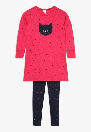 KIDS ANZUG LANG - Pyžamová sada - pink