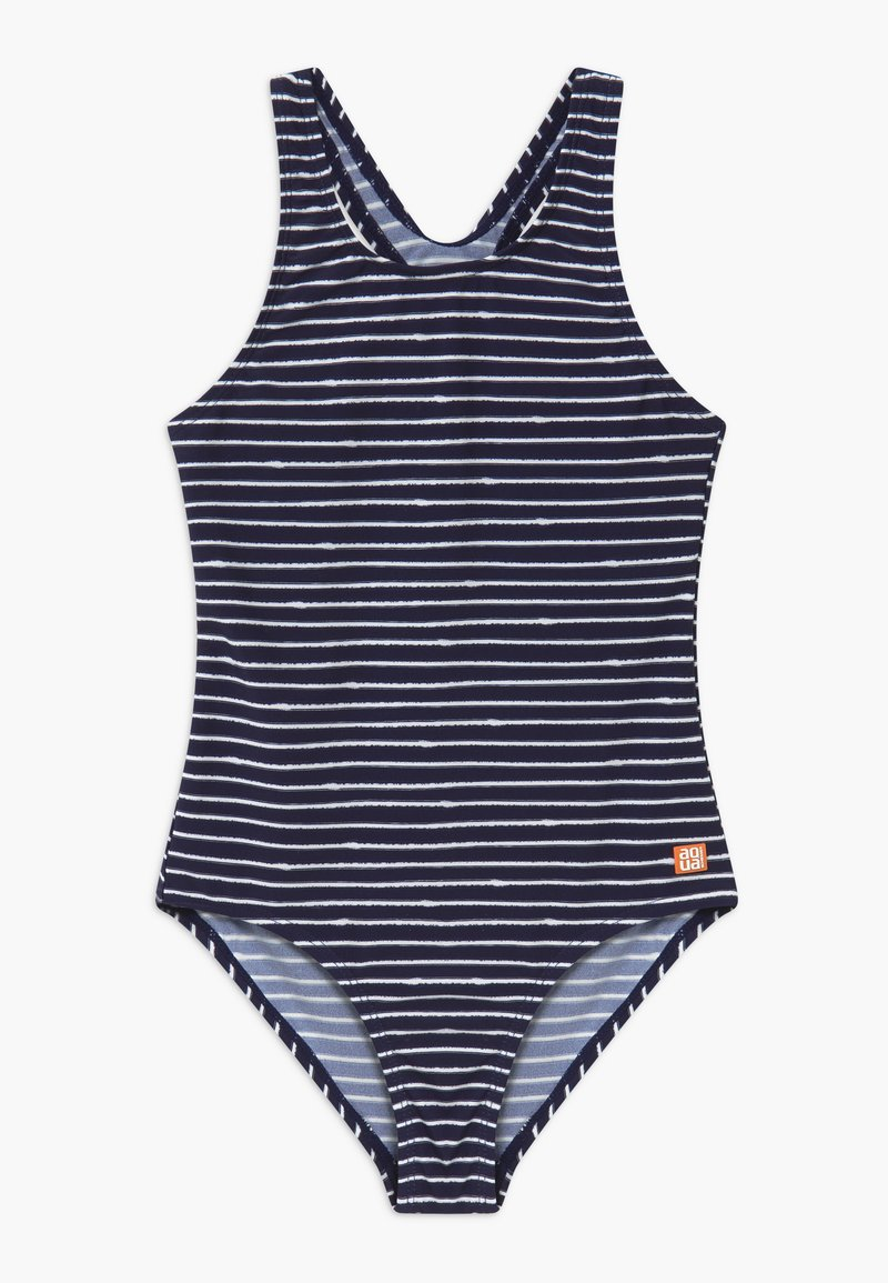 Schiesser - TEENS - Bañador - dark blue/white