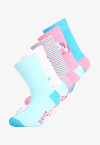 Schiesser - 5 PACK - Calcetines - white - 0
