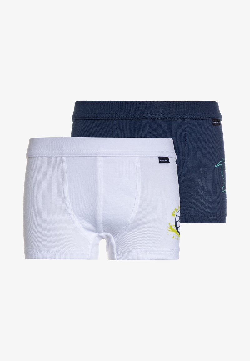 Schiesser - HIP 2 PACK  - Panties - dark blue