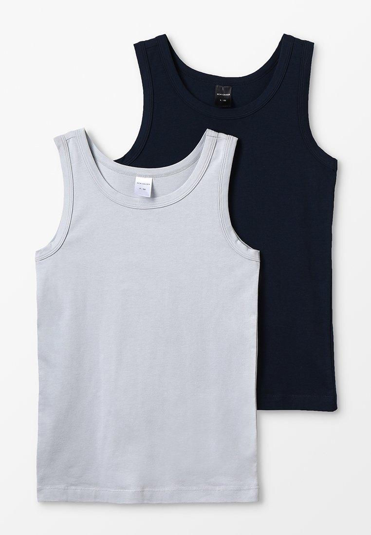 Schiesser - 2 PACK - Unterhemd/-shirt - anthracite