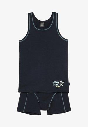 SET - Underwear set - dark blue