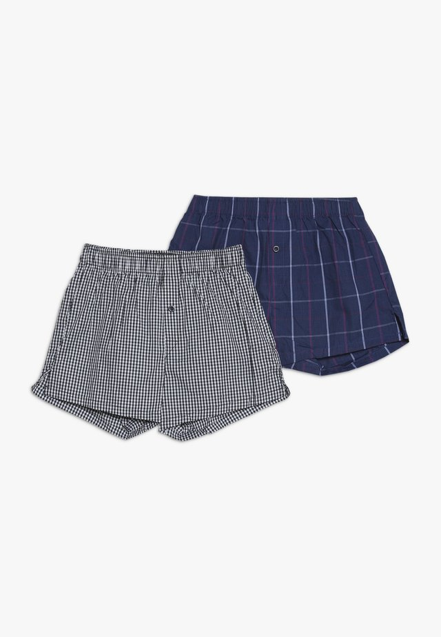 2 PACK - Boxer shorts - dark blue