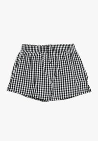 Schiesser - 2 PACK - Boxer shorts - black - 2