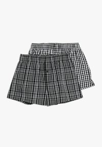 Schiesser - 2 PACK - Boxer shorts - black - 0