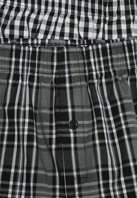 Schiesser - 2 PACK - Boxer shorts - black - 4