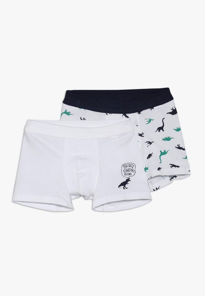 Schiesser - KIDS SHORTS 2 PACK - Panties - white