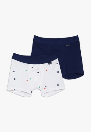 KIDS SHORTS 2 PACK - Pants - white