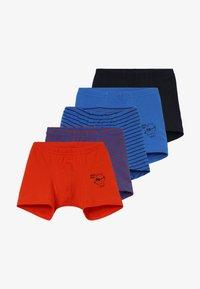 Schiesser - KIDS SHORTS 5 PACK - Pants - blue - 3
