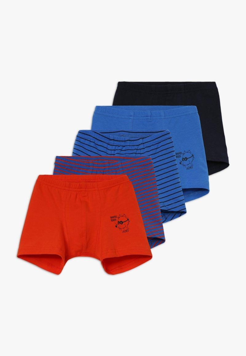 Schiesser - KIDS SHORTS 5 PACK - Pants - blue