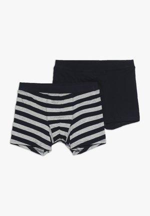TEENS SHORTS 2 PACK - Panties - grey/blue