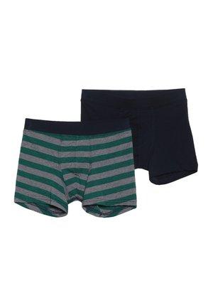 TEENS SHORTS 2 PACK - Panties - green/blue