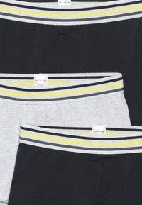Schiesser - TEENS 3 PACK - Culotte - grey/dark blue - 4