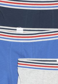 Schiesser - TEENS 3 PACK - Culotte - grey/dark blue/royal blue - 4