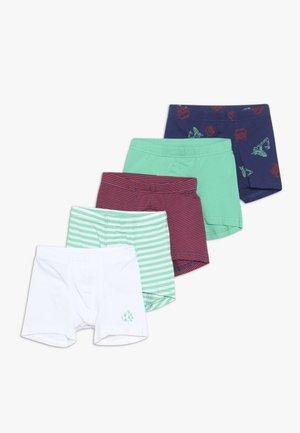 5 PACK - Boxerky - dark blue/green/red