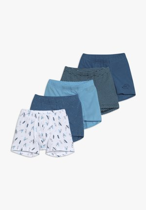 5 PACK - Boxerky - dark blue/light blue/white