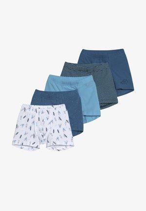 5 PACK - Pants - dark blue/light blue/white