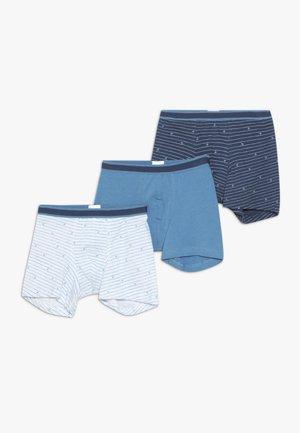 SHORTS 3 PACK  - Onderbroeken - dark blue/royal