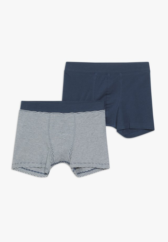 2 PACK SHORTS - Underkläder - dark blue/white