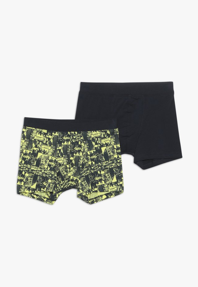 2 PACK - Boxerky - yellow/dark blue