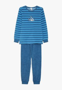 Schiesser - KIDS ANZUG LANG - Pyžamová sada - blau - 0