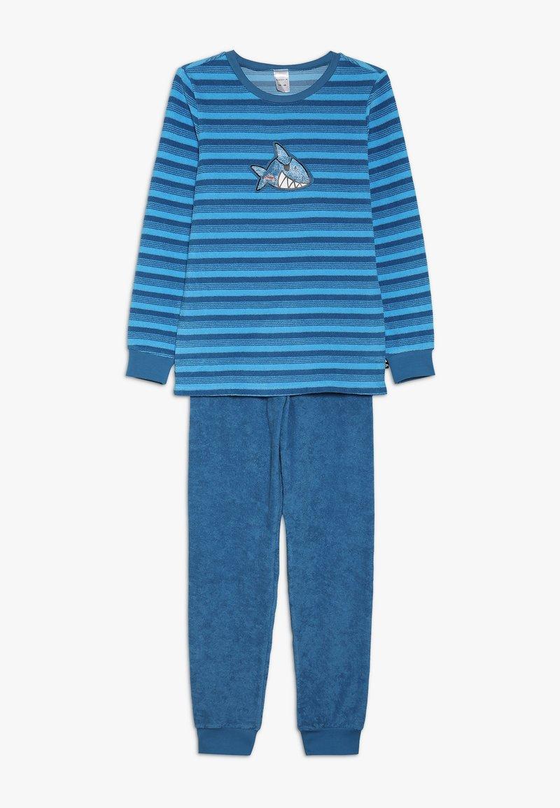 Schiesser - KIDS ANZUG LANG - Pyžamová sada - blau