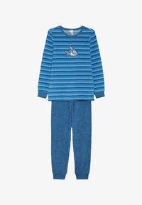 Schiesser - KIDS ANZUG LANG - Pyžamová sada - blau - 3