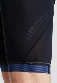 Shimano - ASPIRE BIB SHORTS - Tights - black/blue - 3