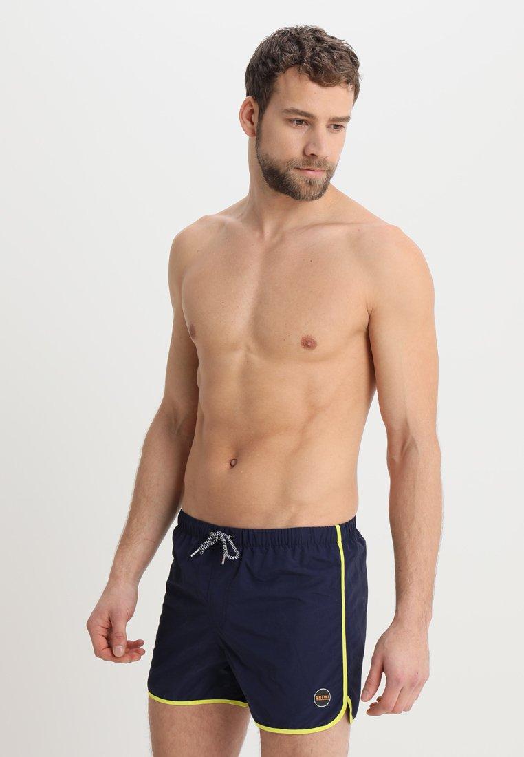 Shiwi - BLAKE BINDING - Swimming shorts - dark navy