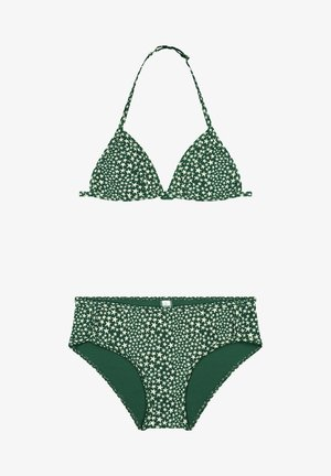 SET - Bikini - hunter green