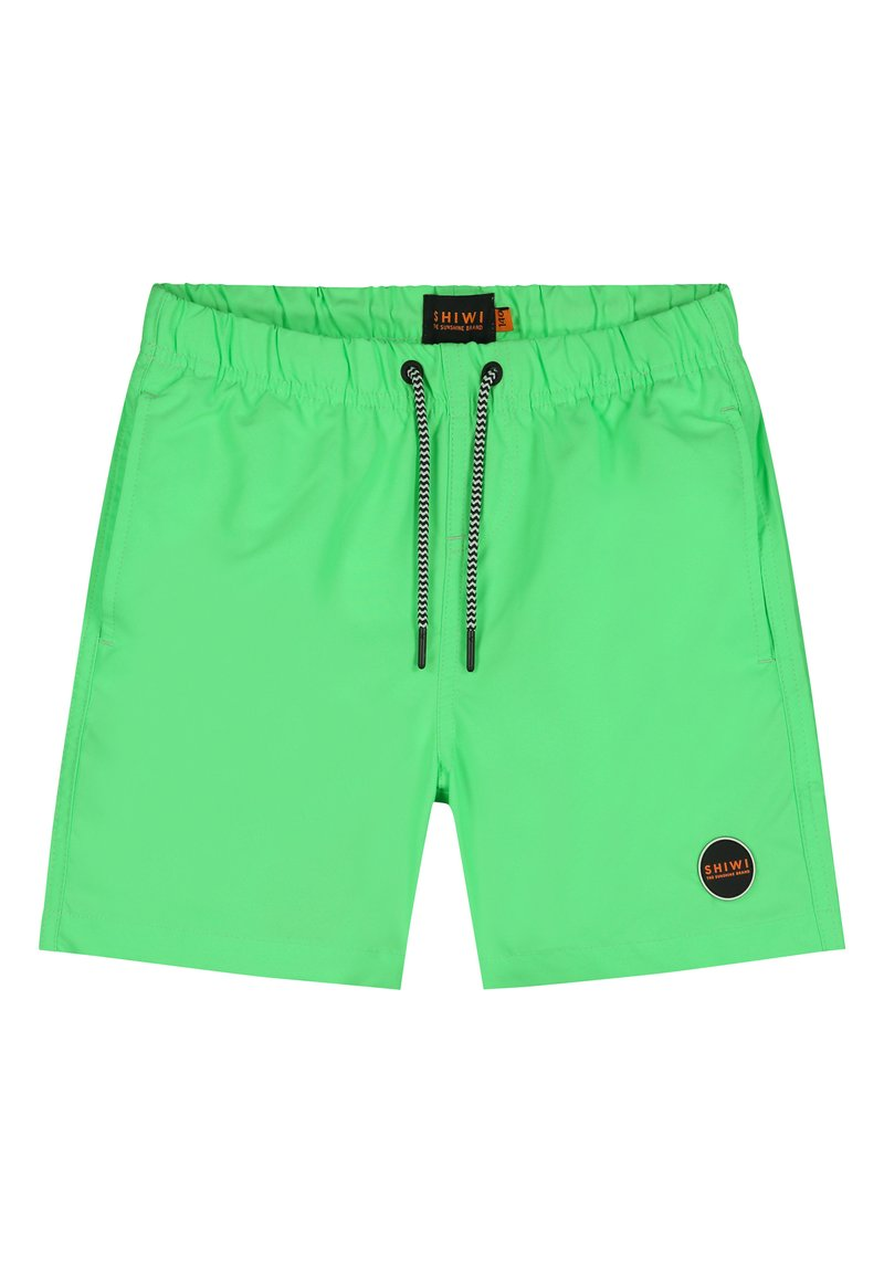Shiwi - SOLID MIKE - Zwemshorts - new neon green
