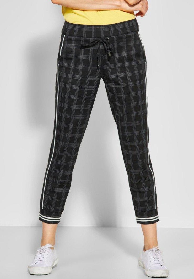 Street One - BONNY - Trousers - black