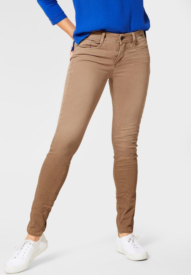 Street One - Slim fit jeans - brown