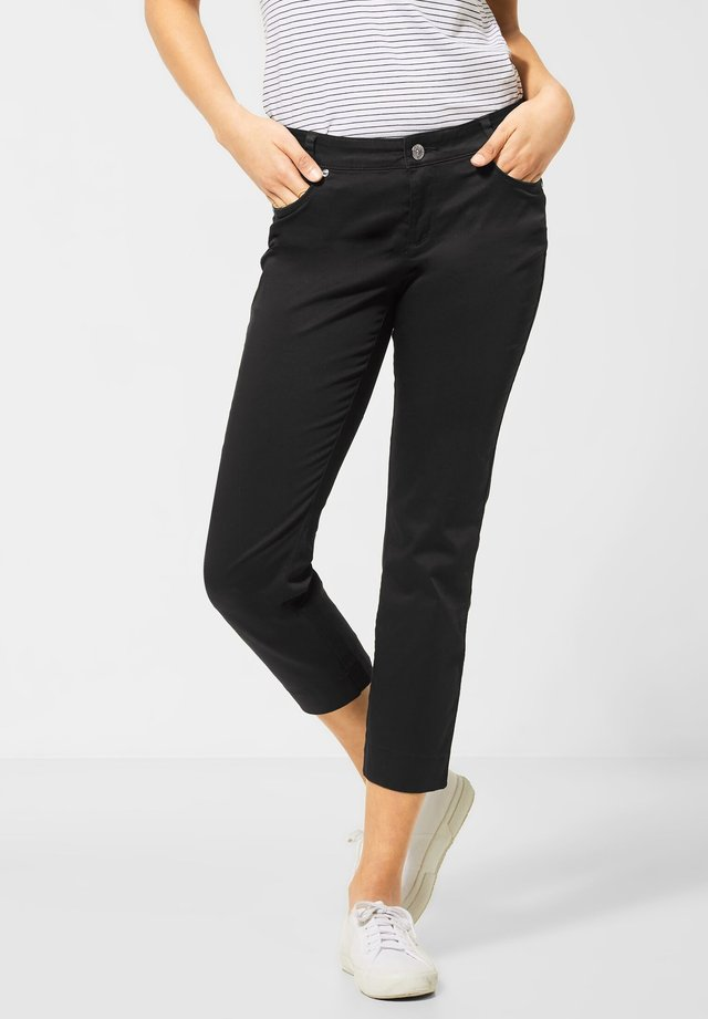 IM COLOUR STYLE - Slim fit jeans - schwarz