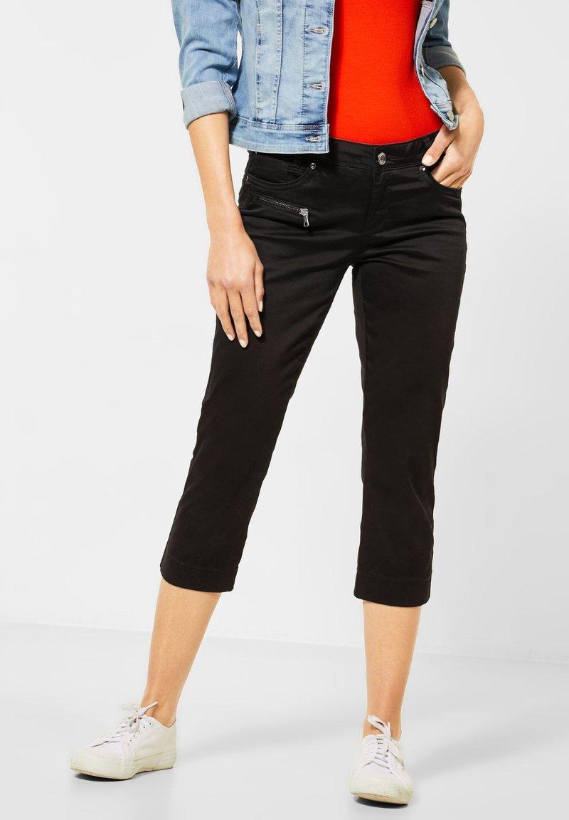 Street One - Shorts - schwarz