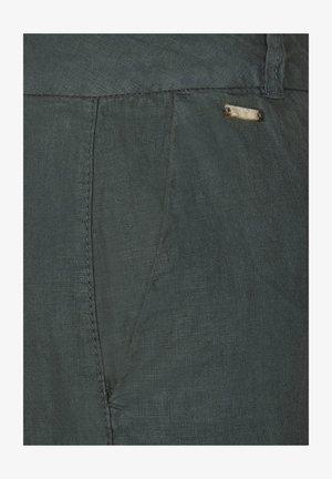MIT WIDE LEGS - Trousers - grün
