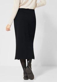 Street One - A-line skirt - black - 2