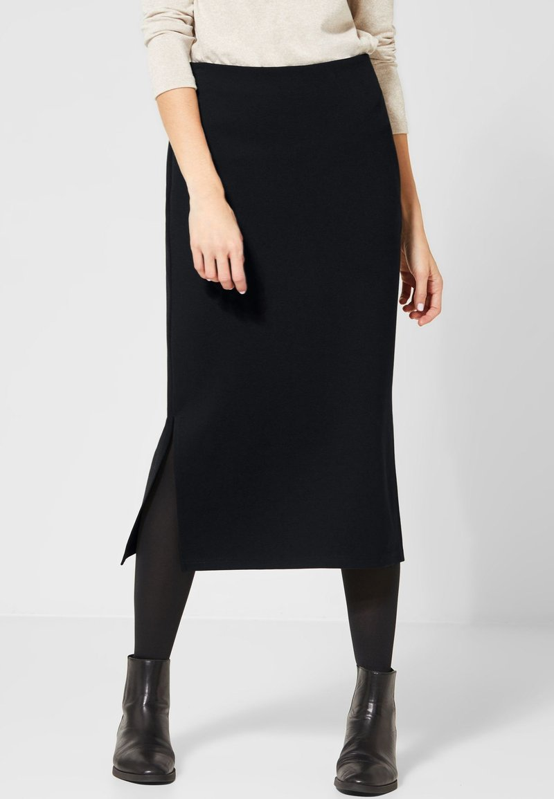 Street One - A-line skirt - black