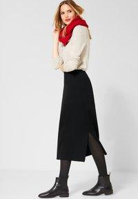 Street One - A-line skirt - black - 1