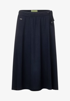 JOGGSTYLE ROCK IN A-LINIE - A-line skirt - blau