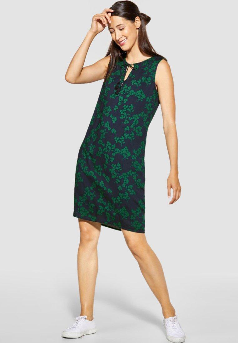Street One - MIT QUASTEN - Day dress - green