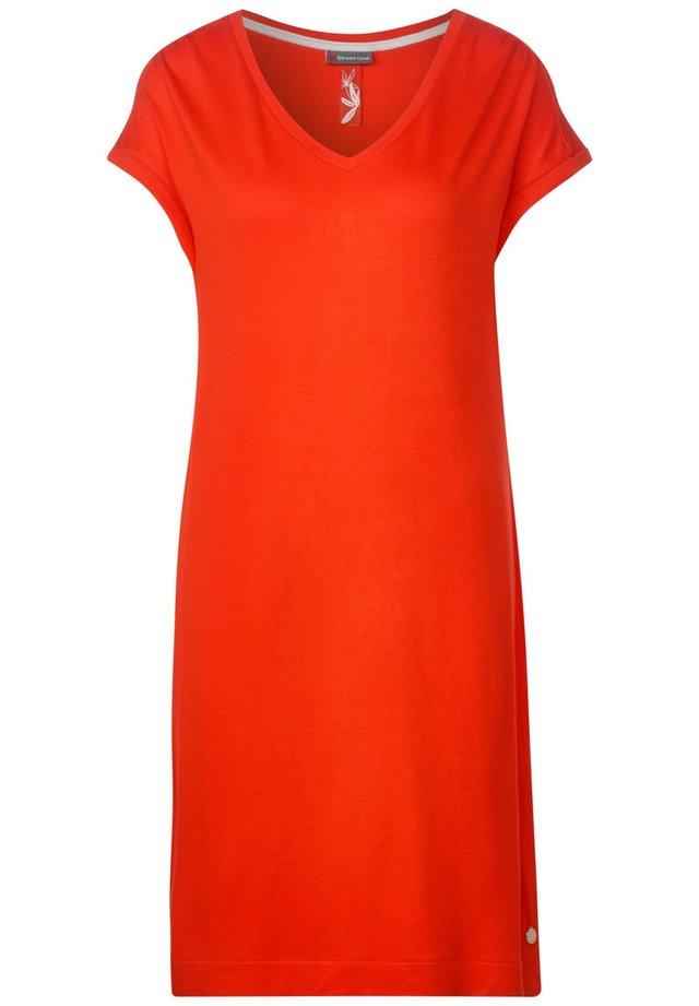 Shirt dress - Orange