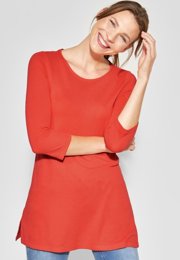 Street One - Long sleeved top - red