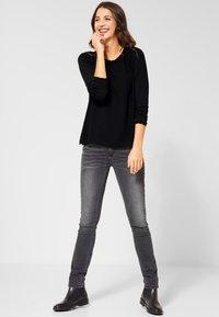 Street One - DAVIA - Long sleeved top - black - 1